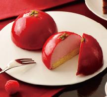 ストロベリードームケーキ