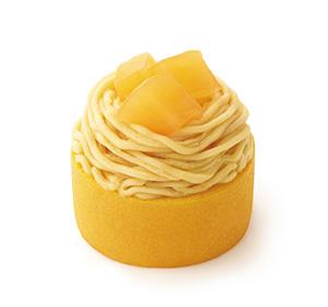 さつまいもとりんごのモンブラン 徳島県産なると金時使用