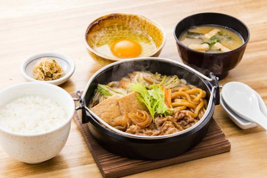 牛すき焼き定食