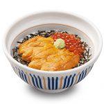 なか卯の海鮮シリーズ「生うに丼」発売