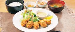 「牡蠣フライ定食」