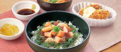 「海鮮丼&牡蠣フライ」