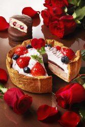 「PABLO×ロッテ 4種ベリーのチョコチーズタルト」