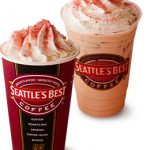 シアトルズベストコーヒーに初のサクラフレーバー。「サクラホワイトモカ」と「サクラホワイトチョコクーラ」発売
