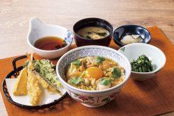 桜姫とヨード卵・光の親子丼膳