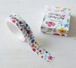 SHOGO SEKINEデザインの花柄マスキングテープ