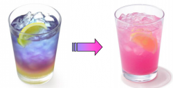 「ラベンダーレモネード(レモン果汁 1%使用)」
