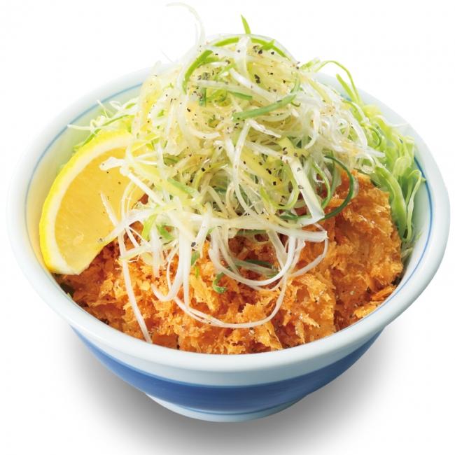 「ねぎ塩カツ丼」