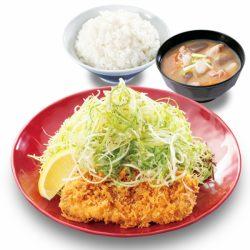 「ねぎ塩カツ定食 」