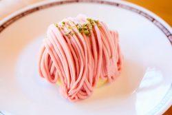 「苺モンブラン」