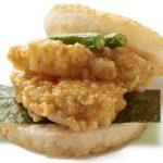 【5/24】かぶりつける天丼。モス、「モスライスバーガー海老の天ぷら」と「モスライスバーガーよくばり天 海老とかきあげ」を期間限定新発売!
