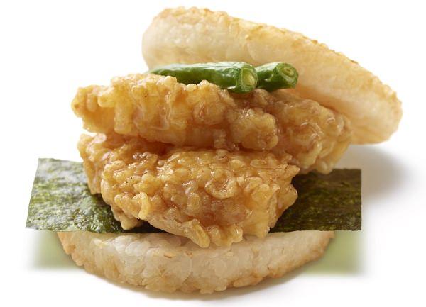 「モスライスバーガー海老の天ぷら」